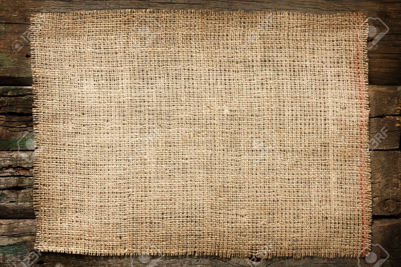 15631331 burlap jute canvas vintage background on wooden boards stock photo the funky little chair. Black Bedroom Furniture Sets. Home Design Ideas